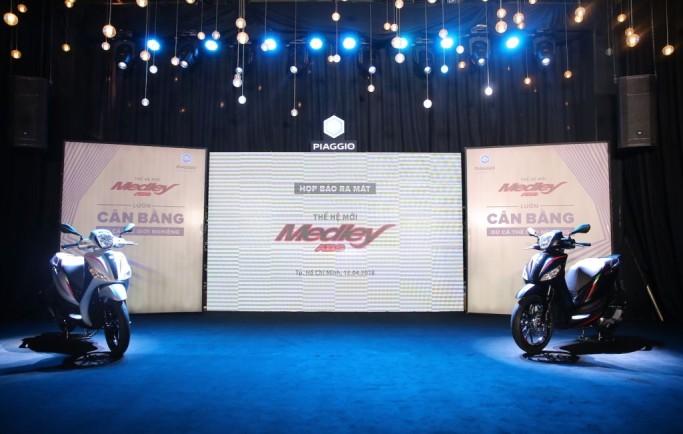 Piaggio Medley ABS 2018 chính thức ra mắt hành khách Việt, giá từ 72,5 triệu đồng