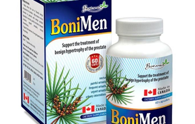 Sản phẩm bonimen của botania mang lại hiệu quả cho người phì đại tiền liệt tuyến