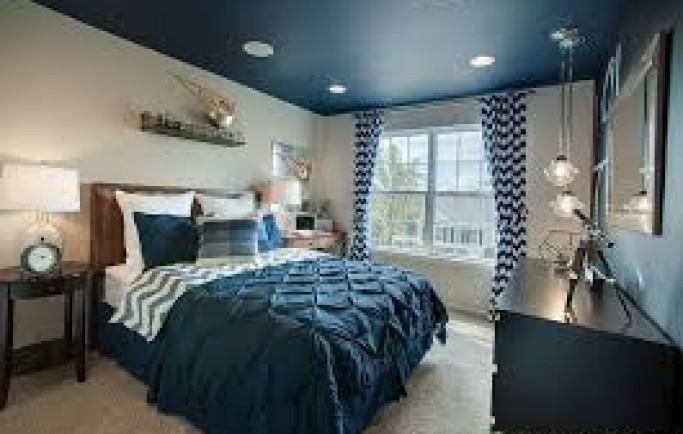 Sở hữu ngay phòng ngủ đẹp nhờ họa tiết chevron