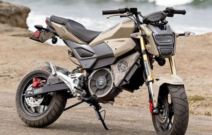 """""""Sốc"""" với Honda MSX125 tân trang xe điện mạnh gấp 3 lần nguyên bản"""
