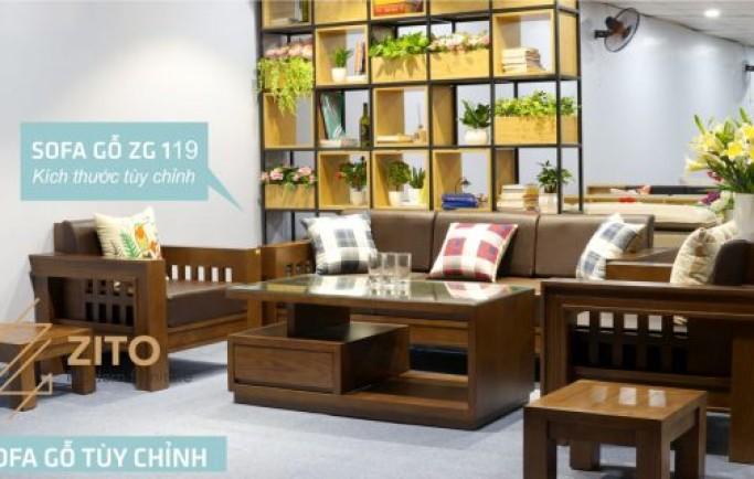 Sofa gỗ zito- những sản phẩm được khách hàng ưa chuộng nhất!