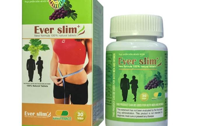 Tác dụng của thuốc giảm cân Ever Slim như thế nào?