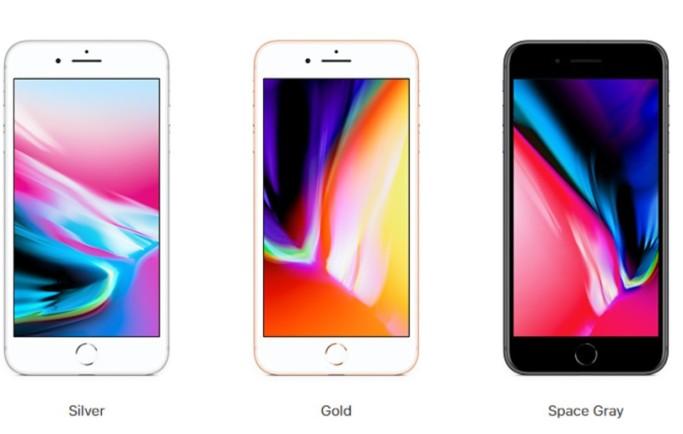 Tại Việt Nam, iPhone 8 Plus cũ có mấy màu ?