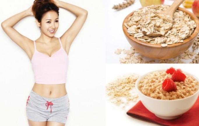 Thực đơn giảm cân từ bột yến mạch – Bí quyết giữ dáng hàng đầu