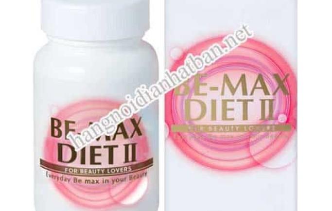 Tìm hiểu về sản phẩm viên uống Be-Max Diet II của Nhật Bản hiện nay