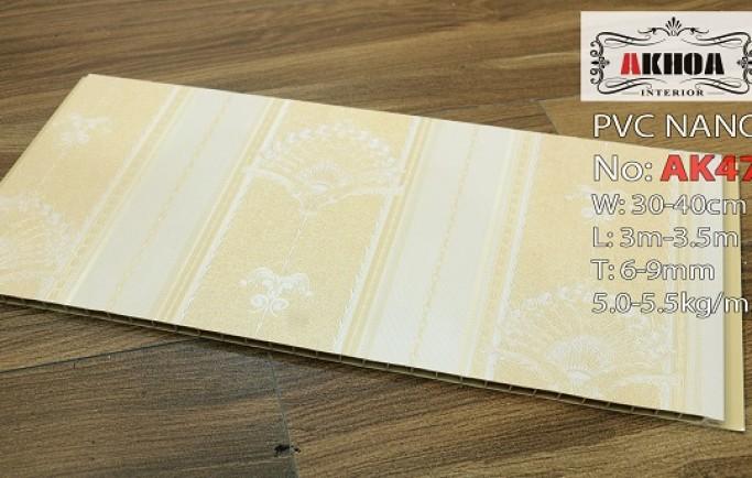 Tư vấn sản phẩm tấm ốp tường nhựa pvc nano chính hãng số một