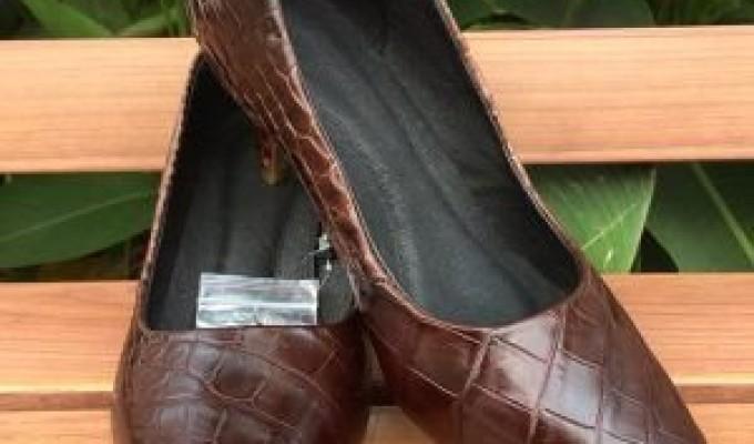 Túi Da Cá Sấu Thật Cho Nam Đeo Chéo Giá Ưu Đãi TDL-CS01-N giá chỉ 7,000,000₫