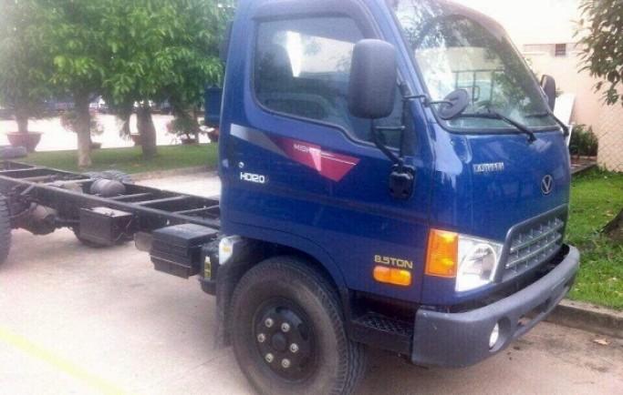 Xe Tải 8 Tấn Đô Thành Xe Nâng Tải Hyundai HD120S 8 Tấn
