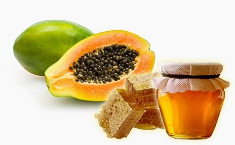 Cách trị nám từ tự nhiên cực hiệu quả với trái cây đu đủ + mật ong
