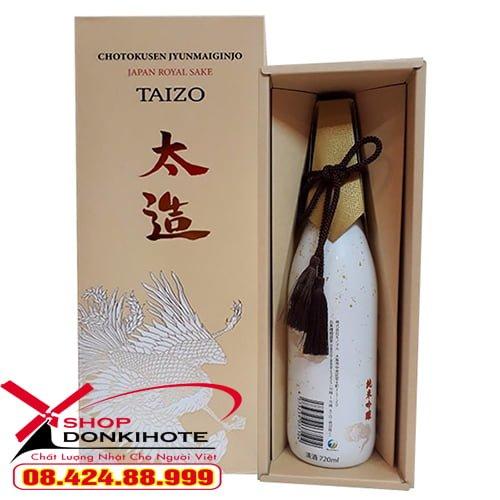 Bật mí sản phẩm rượu Taizo Japan Royal Sake của Nhật Bản tốt nhất