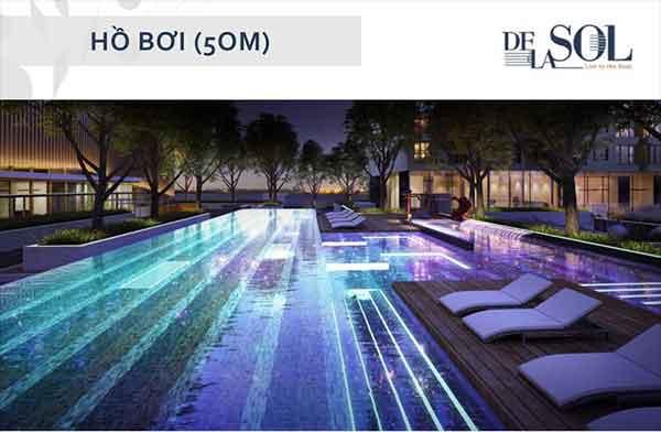Căn hộ De La Sol cao cấp với thiết kế thông mình nằm ngay vị trí đắt địa