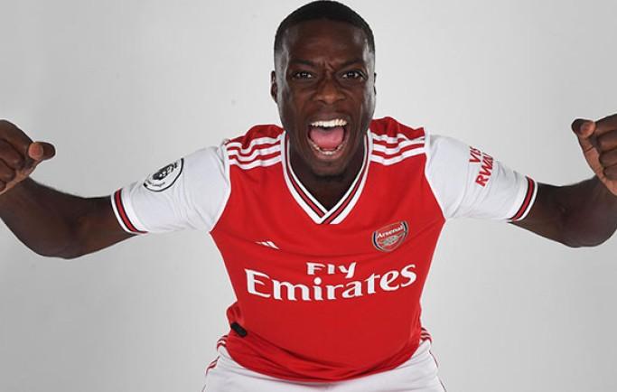 Fan 8live đưa tin:Arsenal: Nicolas Pepe giải thích vì sao loại MU để đến Arsenal với giá kỷ lục