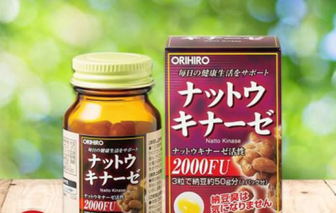 Giới thiệu sản phẩm Nattokinase 3000FU của Nhật Bản uy tín số 1