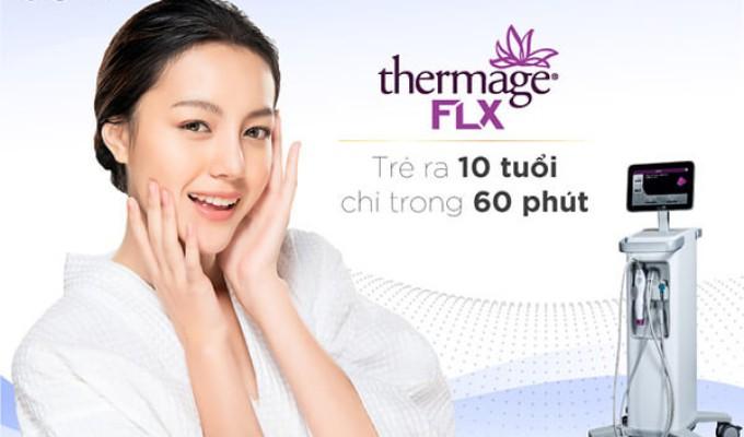 Nâng cơ, trẻ hóa da với 1 liệu trình duy nhất bằng công nghệ Thermage FLX