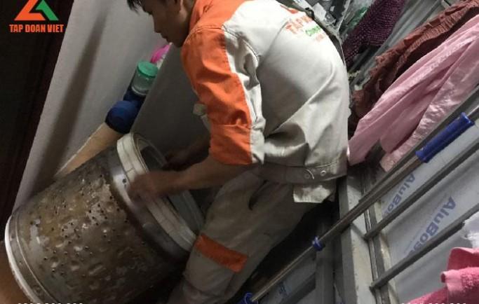 Tập Đoàn Việt nhận sửa chữa máy giặt tại nhà chi phí rẻ nhất